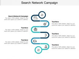 Search Network Campaign Ppt Powerpoint Presentation Styles Files Cpb