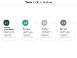Search Optimization Ppt Powerpoint Presentation Infographic Template Show Cpb