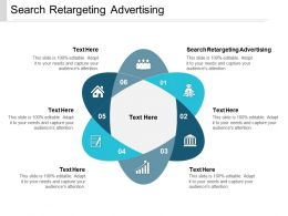 Search Retargeting Advertising Ppt Powerpoint Presentation Inspiration Example File Cpb