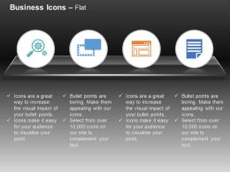 Search The Settings Internet Browser Checklist Ppt Icons Graphics
