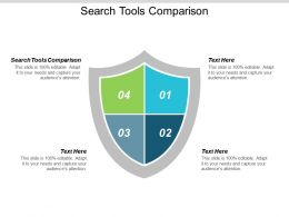 Search Tools Comparison Ppt Powerpoint Presentation Show Master Slide Cpb