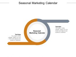 Seasonal Marketing Calendar Ppt Powerpoint Presentation Layouts Clipart Images Cpb