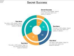 Secret Success Ppt Powerpoint Presentation Inspiration Example Cpb