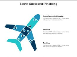 Secret Successful Financing Ppt Powerpoint Presentation Summary Structure Cpb
