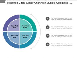 Sectioned Circle Color Chart With Multiple Categories For Details