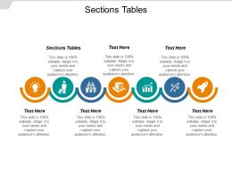 Sections Tables Ppt Powerpoint Presentation Inspiration Guide Cpb