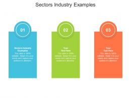 Sectors Industry Examples Ppt Powerpoint Presentation File Ideas Cpb