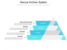 Secure Archive System Ppt Powerpoint Presentation Examples Cpb