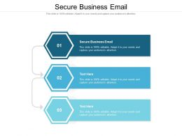 Secure Business Email Ppt Powerpoint Presentation Infographic Template Tips Cpb