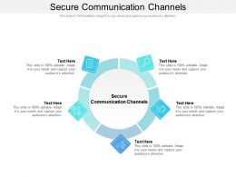 Secure Communication Channels Ppt Powerpoint Model Styles Cpb