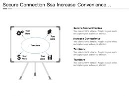 Secure Connection Ssa Increase Convenience Decrease Wait Time
