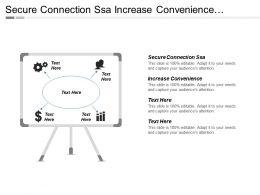 Secure Connection Ssa Increase Convenience Decrease Wait Time