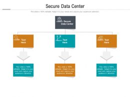 Secure Data Center Ppt Powerpoint Presentation Infographic Template Outline Cpb