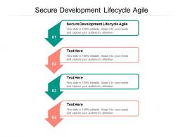 Secure Development Lifecycle Agile Ppt Powerpoint Presentation Infographic Template Model Cpb
