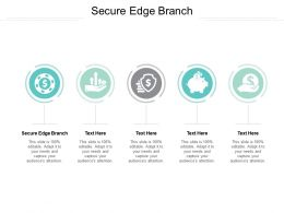 Secure Edge Branch Ppt Powerpoint Presentation Inspiration Professional Cpb