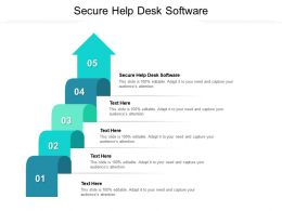 Secure Help Desk Software Ppt Powerpoint Presentation File Guidelines Cpb