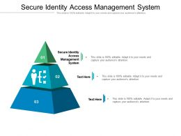 Secure Identity Access Management System Ppt Powerpoint Gallery Cpb