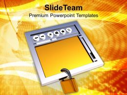 Secure Internet Browser Internet Powerpoint Templates Ppt Themes And Graphics