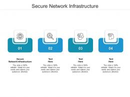 Secure Network Infrastructure Ppt Powerpoint Presentation Pictures Examples Cpb