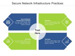 Secure Network Infrastructure Practices Ppt Powerpoint Presentation Slides Grid Cpb