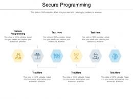 Secure Programming Ppt Powerpoint Presentation Slides Example Topics Cpb