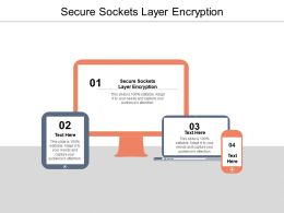 Secure Sockets Layer Encryption Ppt Powerpoint Presentation Model Cpb