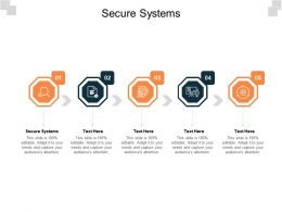 Secure Systems Ppt Powerpoint Presentation Ideas Designs Download Cpb