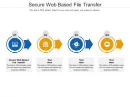 Secure Web Based File Transfer Ppt Powerpoint Presentation Styles Templates Cpb