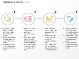 secured_communication_news_report_application_ppt_icons_graphics_Slide01