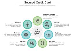 Secured Credit Card Ppt Powerpoint Presentation Infographic Template Icons Cpb