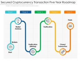 Secured Cryptocurrency Transaction Five Year Roadmap