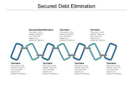 Secured Debt Elimination Ppt Powerpoint Presentation Layouts Shapes Cpb