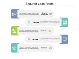 Secured Loan Rates Ppt Powerpoint Presentation Inspiration Good Cpb