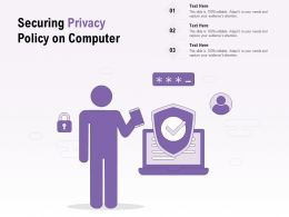Securing Privacy Policy On Computer