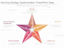 Securing Strategy Implementation Powerpoint Ideas