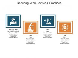 Securing Web Services Practices Ppt Powerpoint Presentation Model Layouts Cpb
