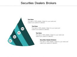 Securities Dealers Brokers Ppt Powerpoint Presentation Outline Show Cpb
