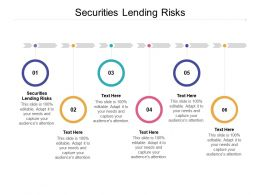 Securities Lending Risks Ppt Powerpoint Presentation Slides Topics Cpb