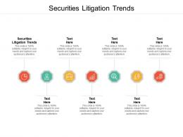 Securities Litigation Trends Ppt Powerpoint Presentation File Pictures Cpb