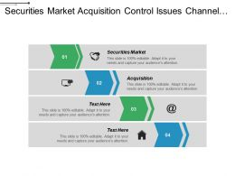 Securities Market Acquisition Control Issues Channel Tunnel Security Issue Cpb