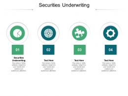 Securities Underwriting Ppt Powerpoint Presentation Pictures Guide Cpb