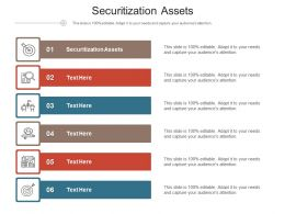 Securitization Assets Ppt Powerpoint Presentation Inspiration Maker Cpb
