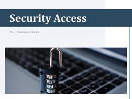 Security Access Protection Fingerprint Information Mobile