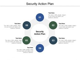Security Action Plan Ppt Powerpoint Presentation Portfolio Guide Cpb