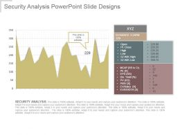 Security Analysis Powerpoint Slide Designs