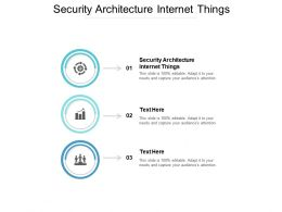 Security Architecture Internet Things Ppt Powerpoint Presentation File Portrait Cpb