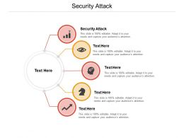 Security Attack Ppt Powerpoint Presentation Infographic Template Cpb