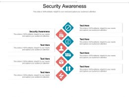 Security Awareness Ppt Powerpoint Presentation Infographics Diagrams Cpb