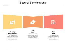 Security Benchmarking Ppt Powerpoint Presentation Pictures Graphics Tutorials Cpb