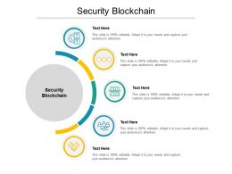 Security Blockchain Ppt Powerpoint Presentation Professional Show Cpb